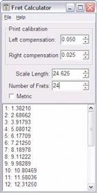 Fret Calculator